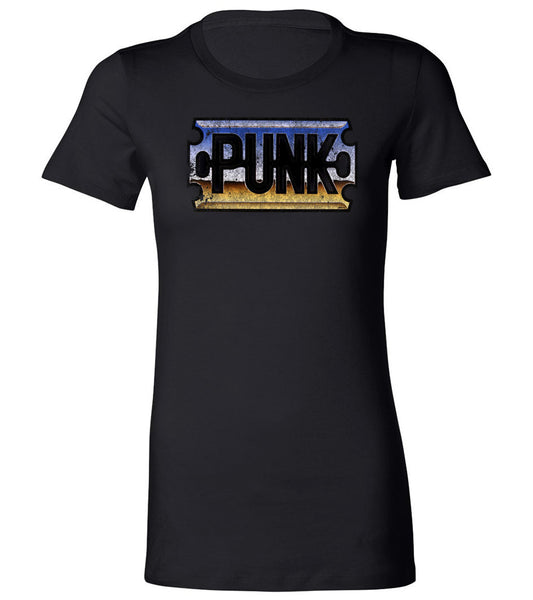 "Chrome ""Punk"" Razor Blade 