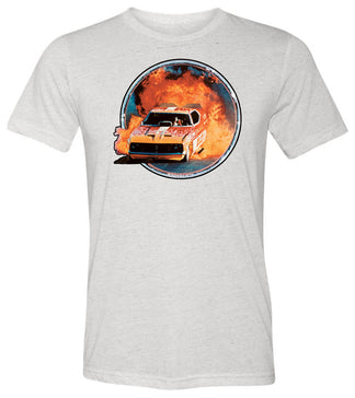 Flaming Funny Car T-shirt