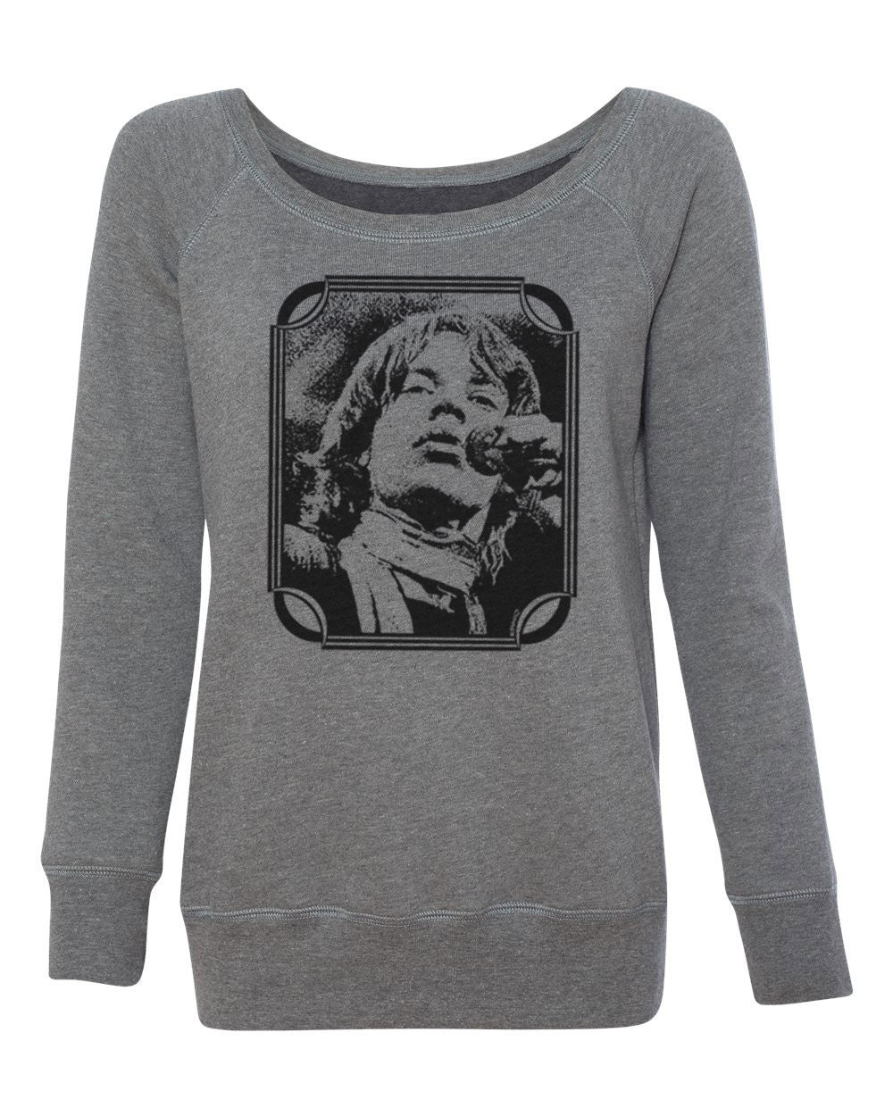 Young Mick | Women's Off Shoulder Sweatshirt