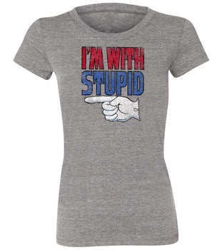 "The original ""I'm With Stupid"" T-shirt 