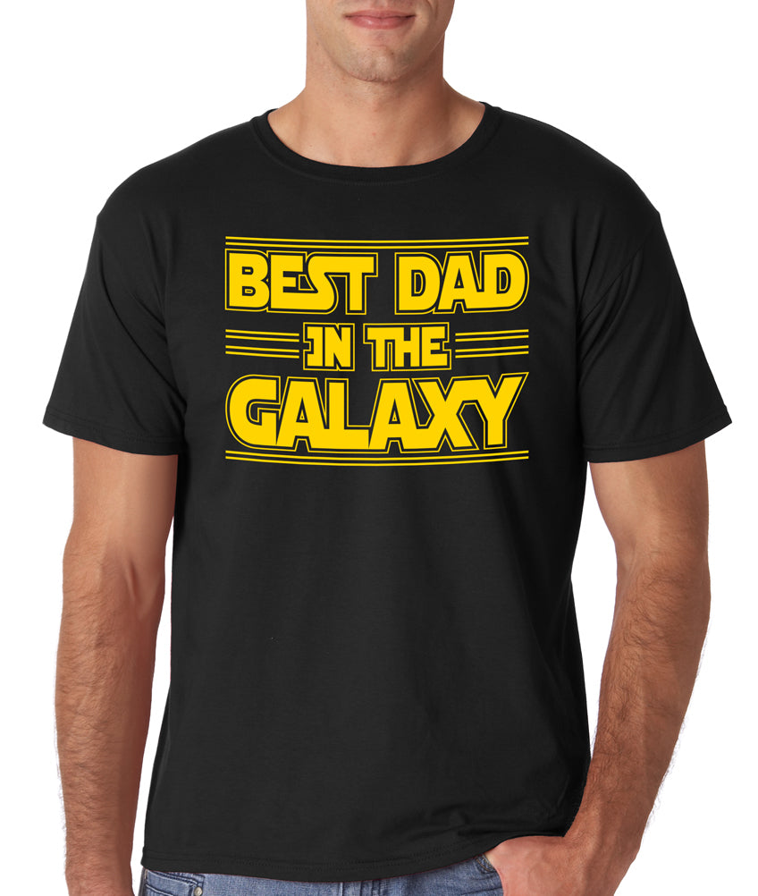 Best Dad In The Galaxy Tee | Father's Day Gift T-shirt