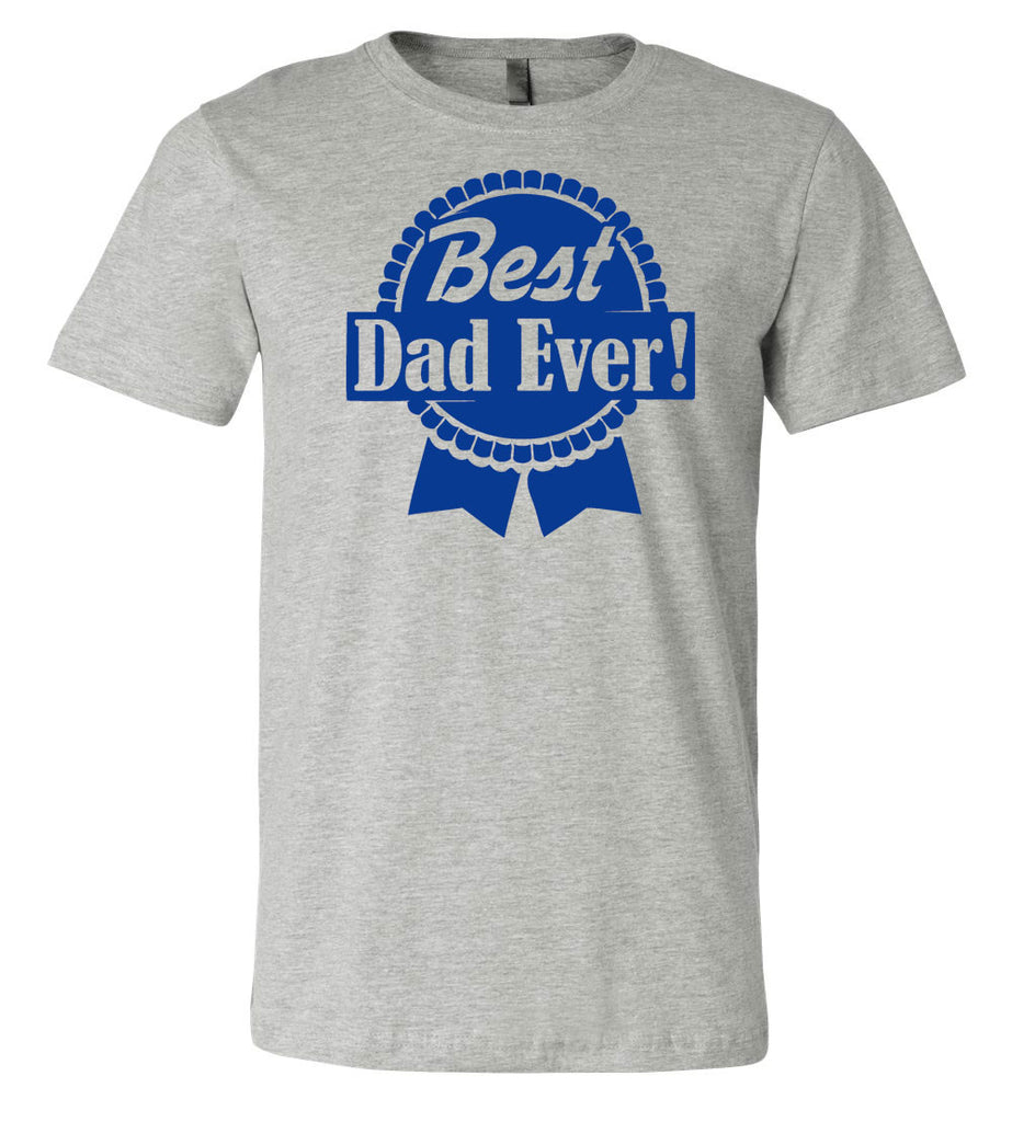 Best Dad Ever Ribbon Beer Tee | Father's Day Gift T-shirt