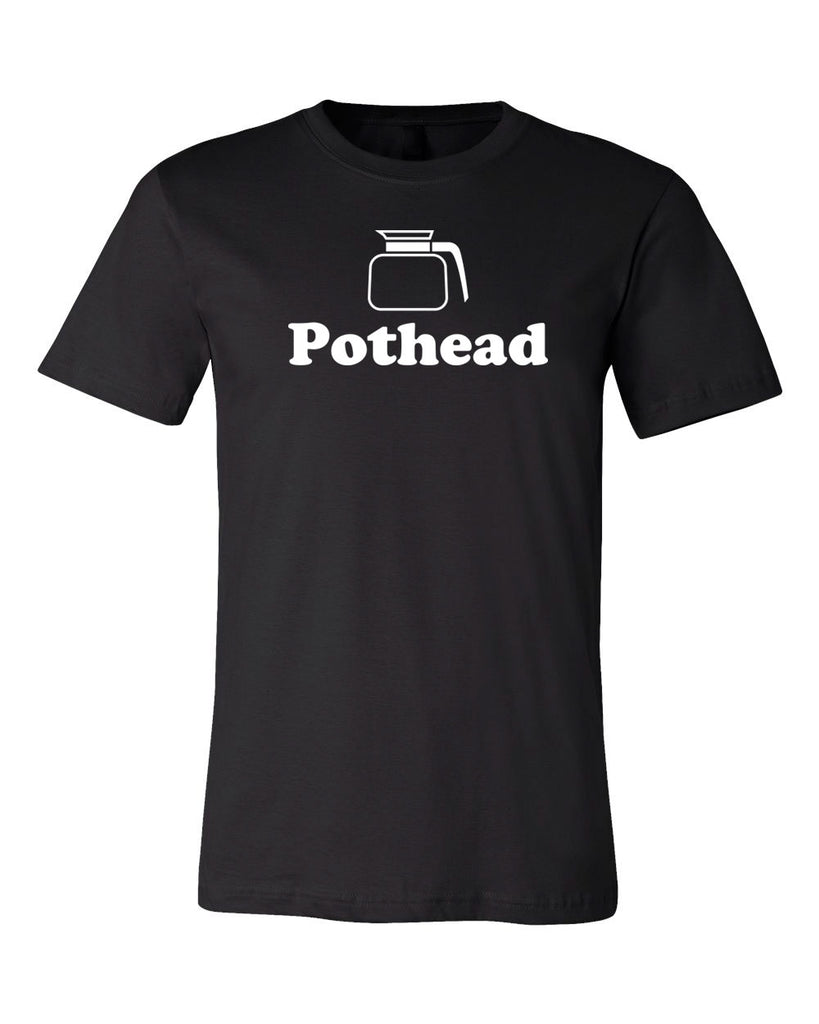 Pothead Coffee lovers T-shirt