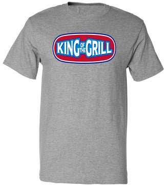 King of the Grill BBQ Tee | Father's Day Gift T-shirt