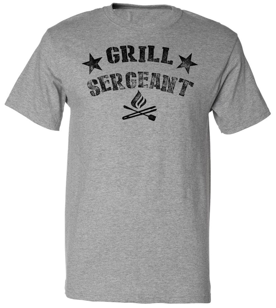 Grill Sergeant BBQ Tee | Father's Day Gift T-shirt