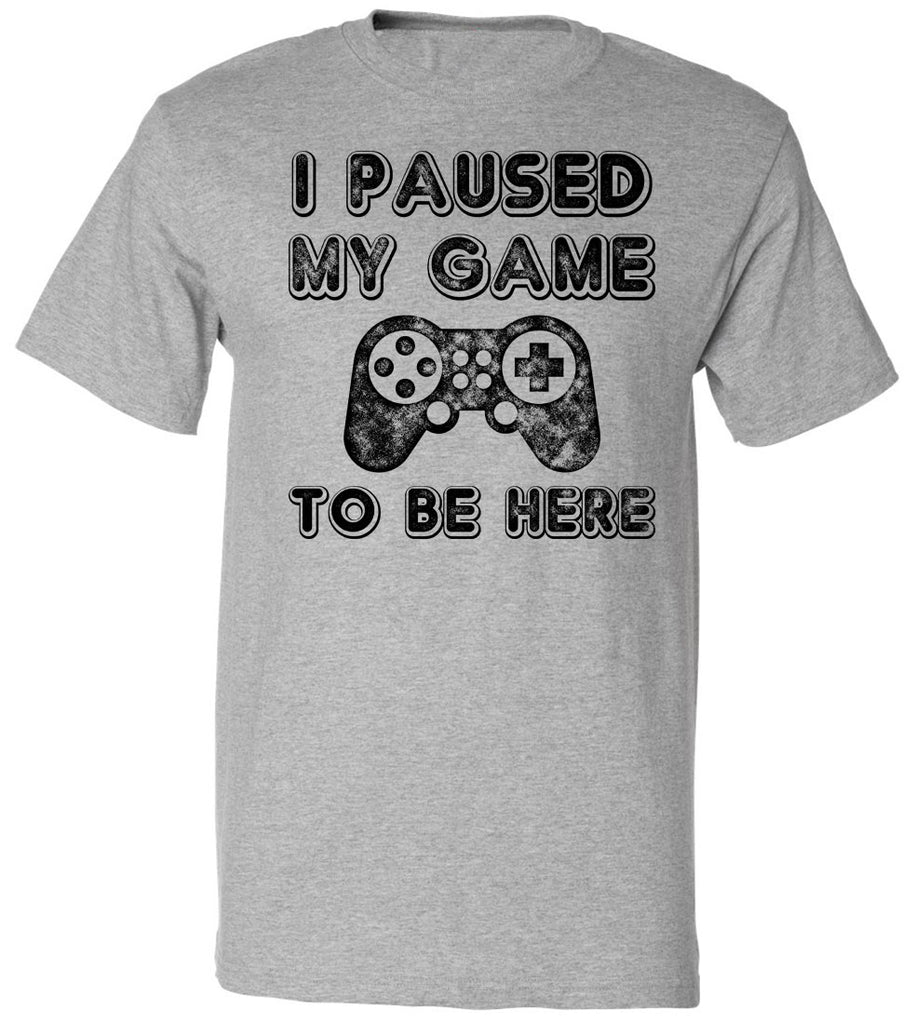 769f2e02c88 Youth I Paused My Game To Be Here T-Shirt Video Gamer Gift Shirt. NEXT.  PREV. Zoom