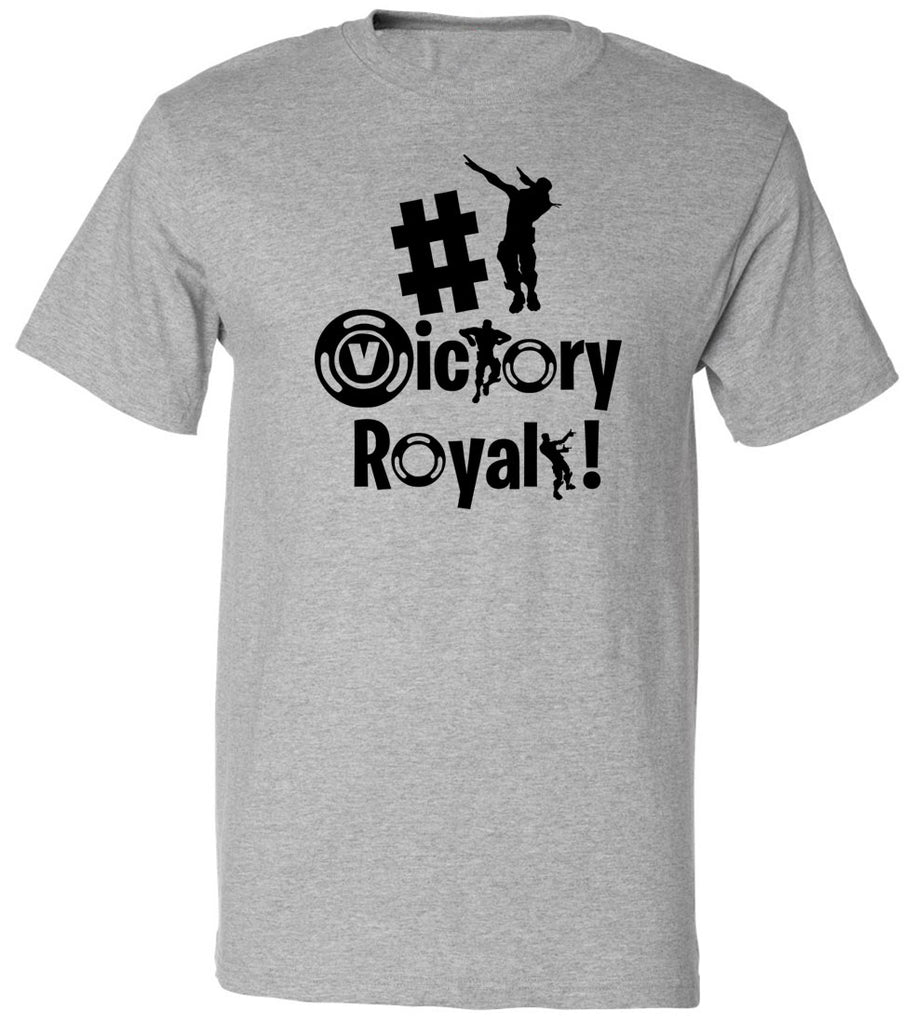 Victory Royal T-Shirt Video Gamer Gift Shirt