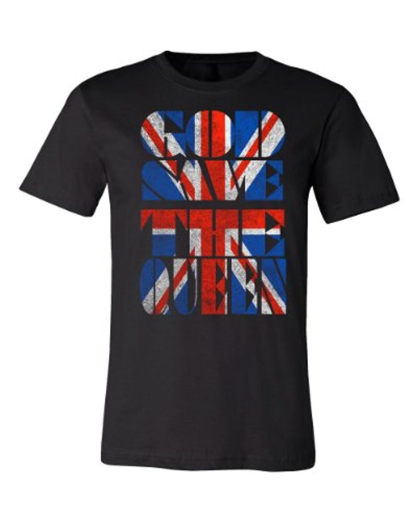 Union Jack | God Save the Queen T-shirt