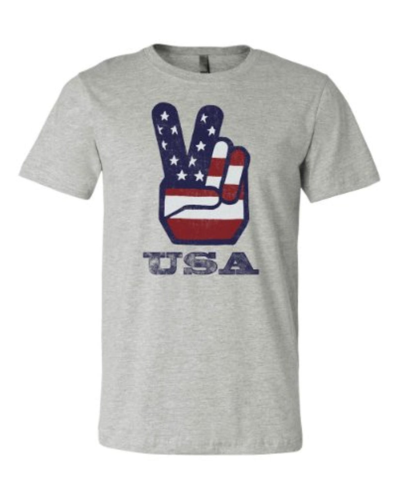 Peace Sign USA T-shirt
