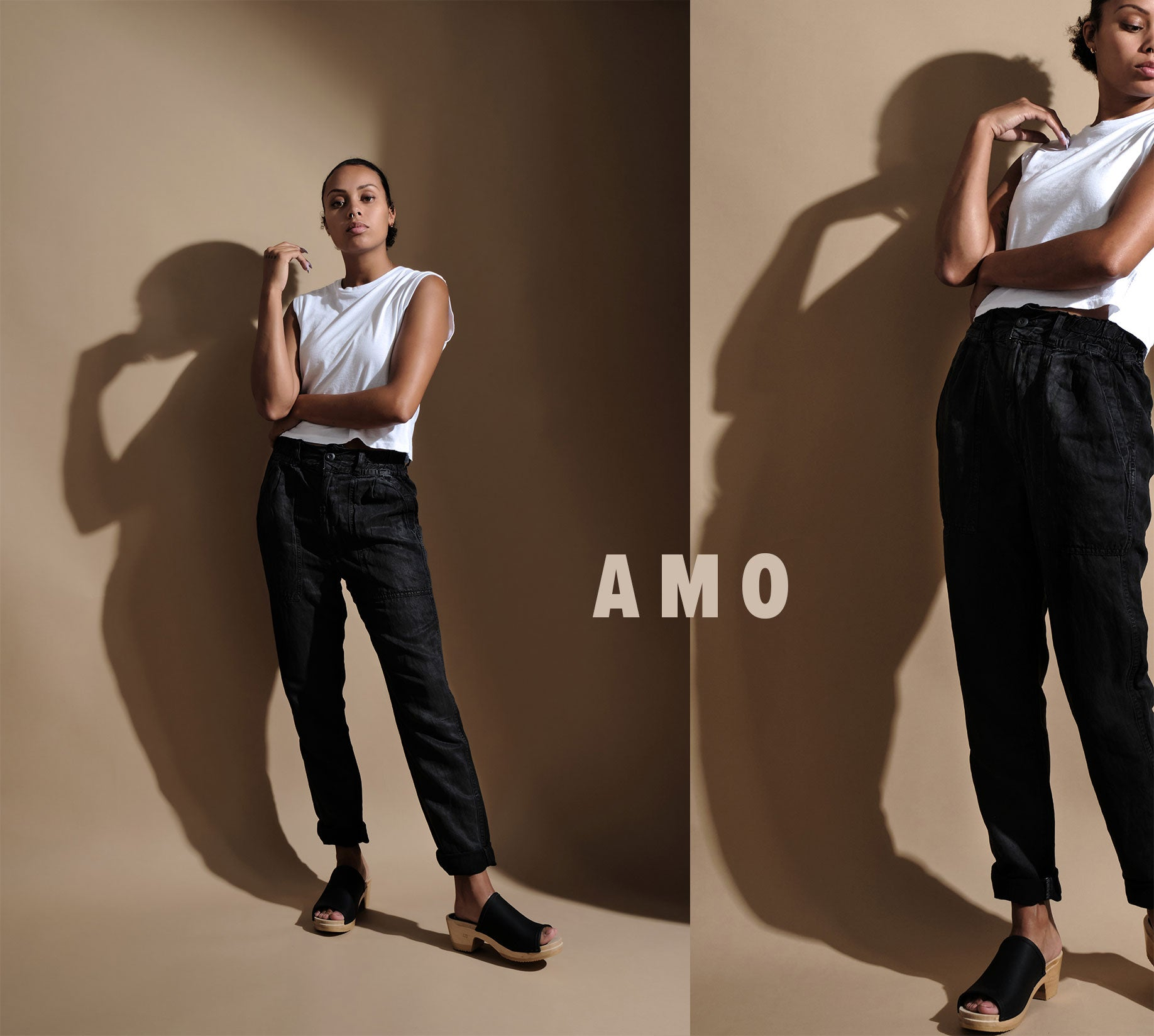 Amo denim brand feature