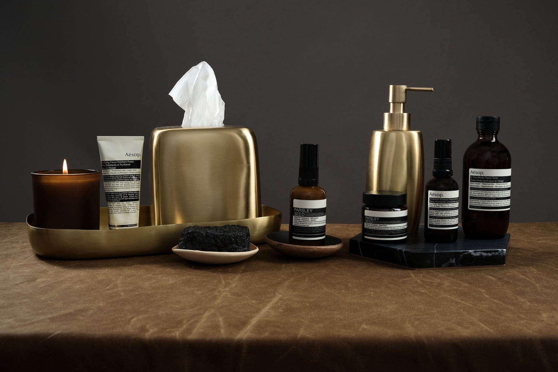 winter skincare from Aesop