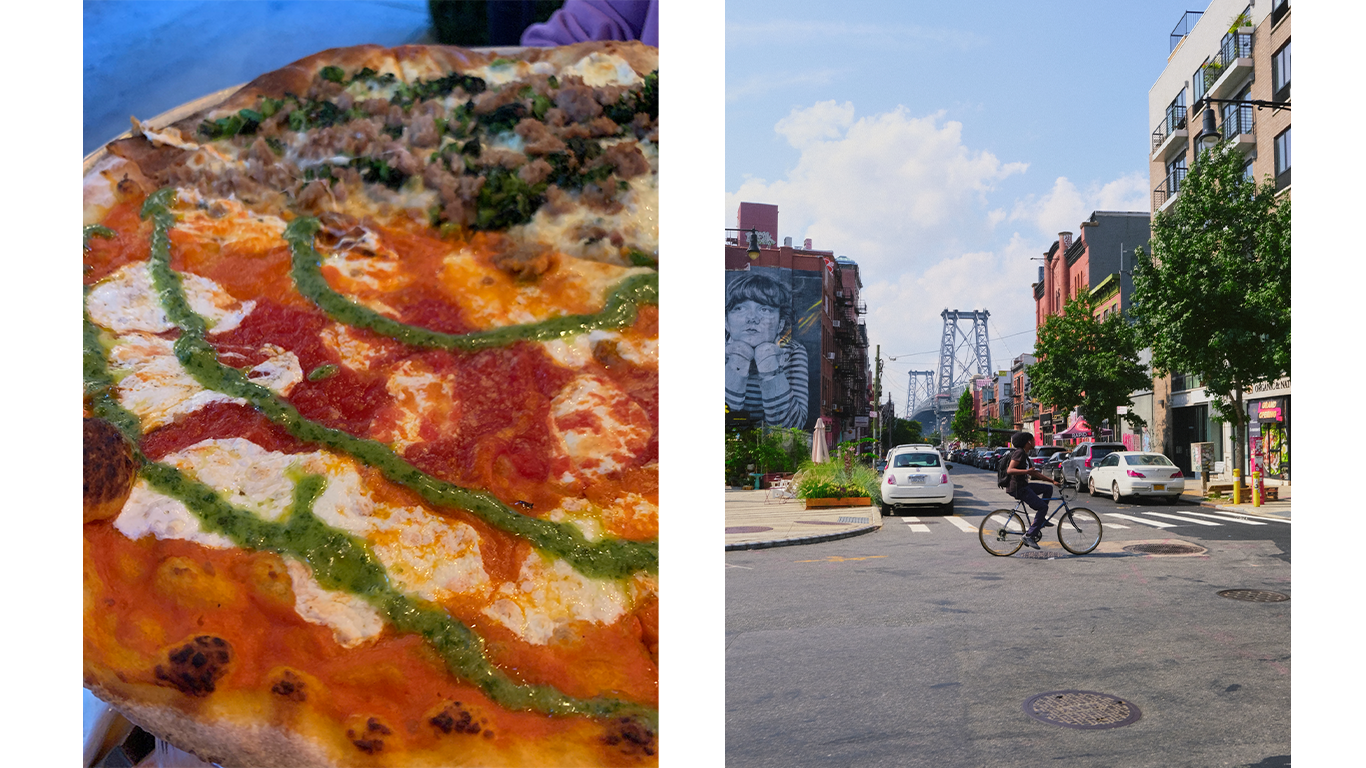 Pizza and New York