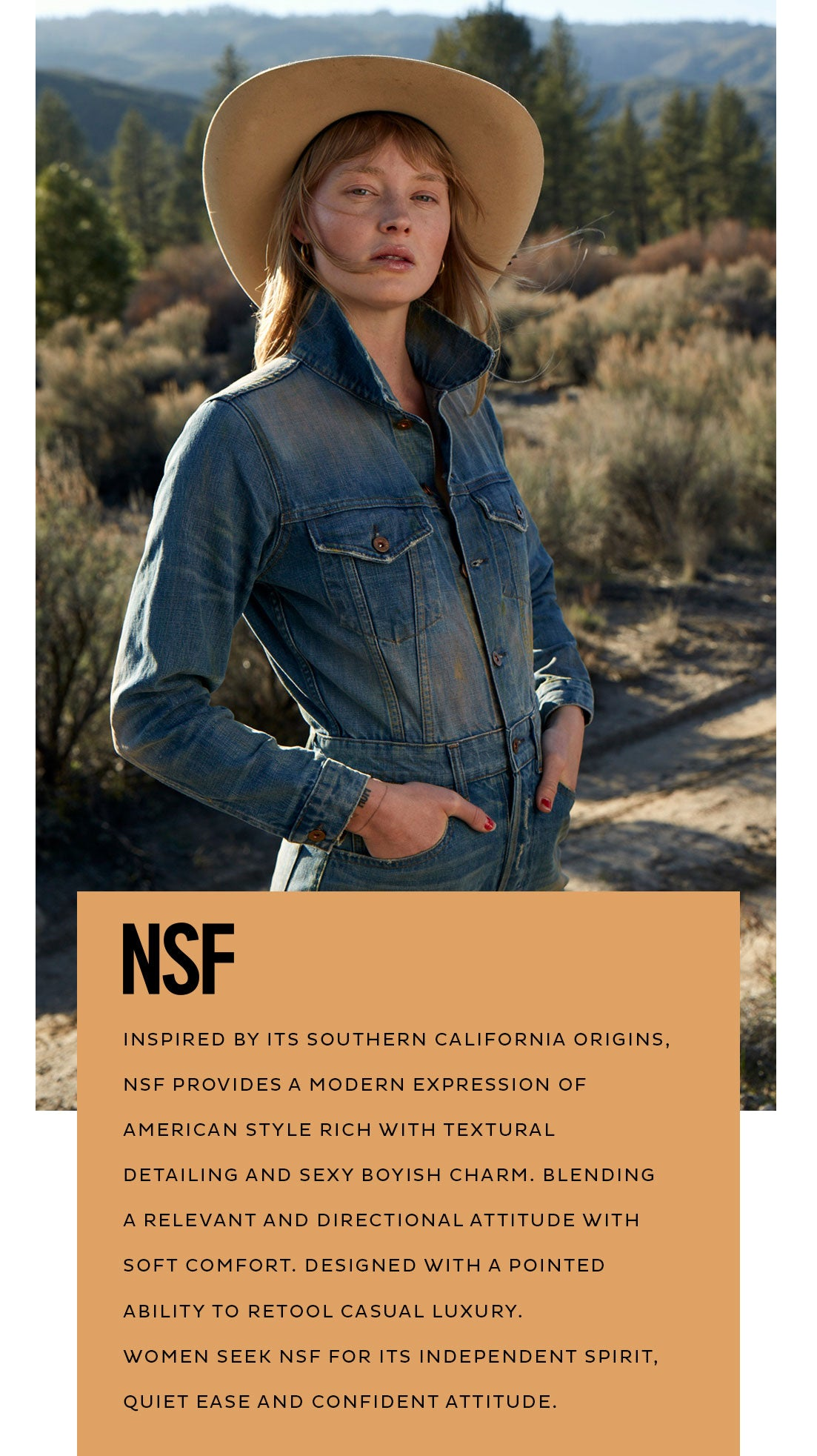 NSF Clothing about us