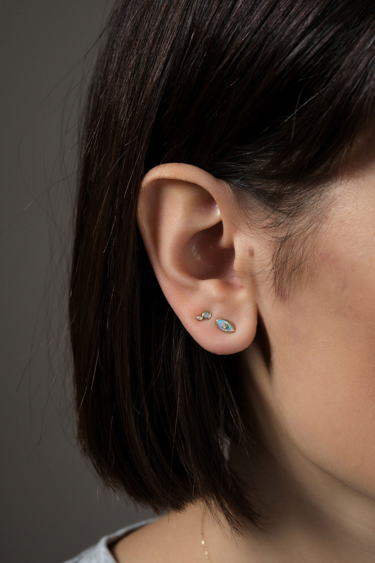 pamela love evil eye studs