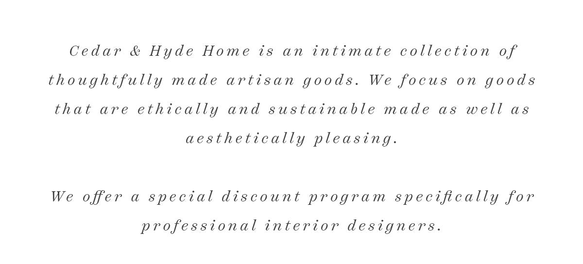 Interior Designer Discount Program