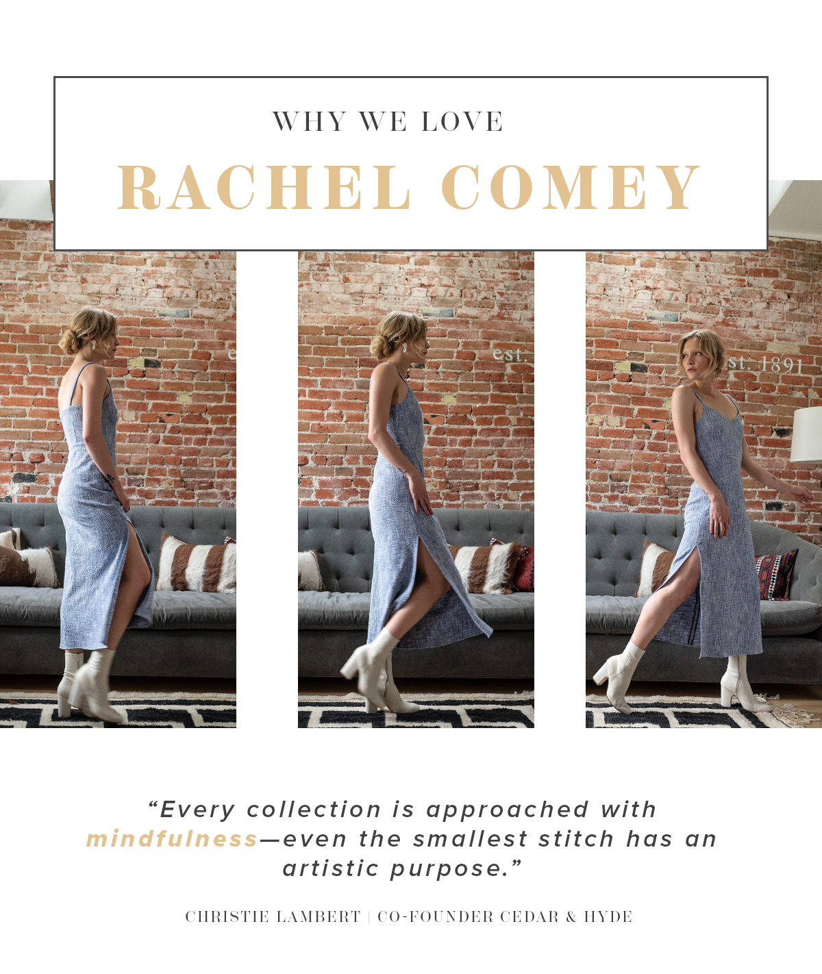 why we love rachel comey
