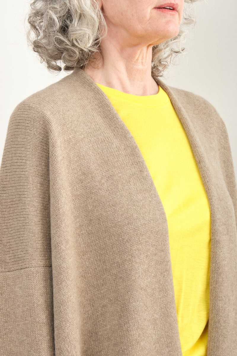 Lauren Manoogian Oversize Simple Cardigan Cashmere