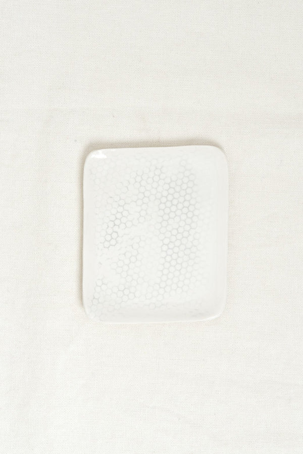 Dbo Home Honeycomb Curve Soap Dish Salt and Pepper