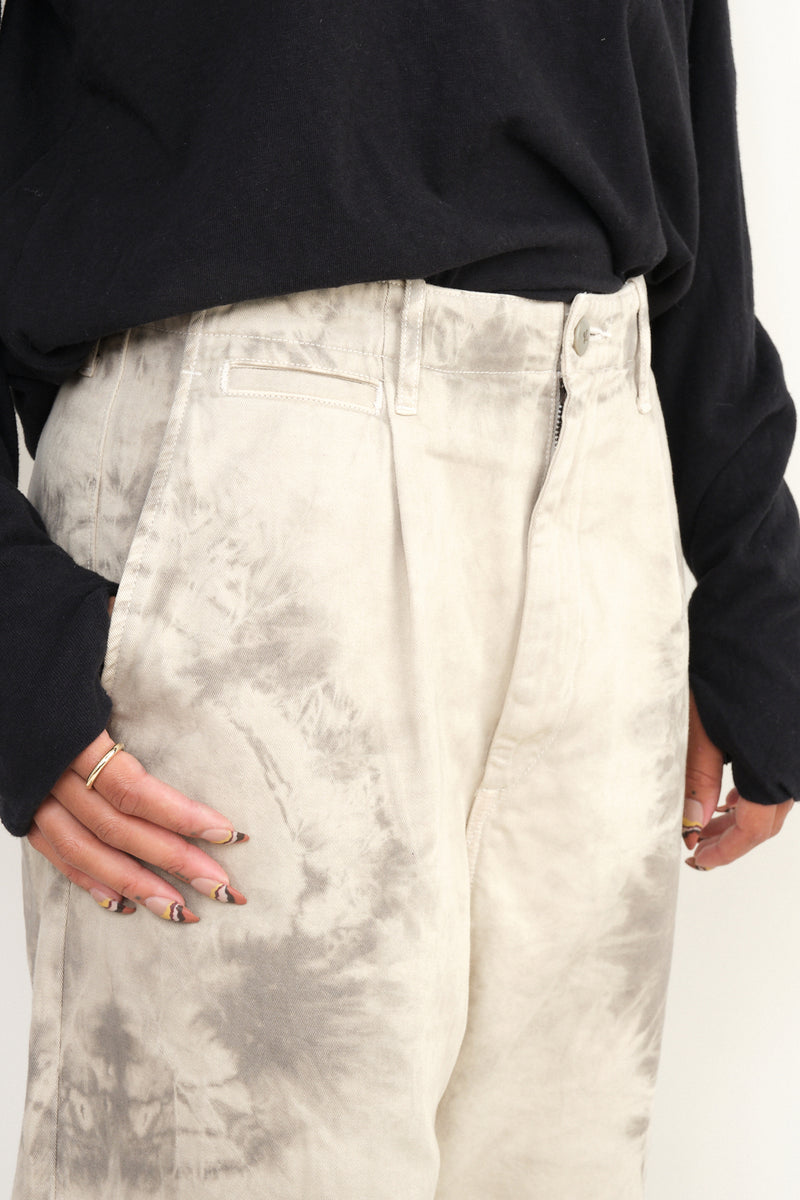Ashbury dyed nime pants kapital