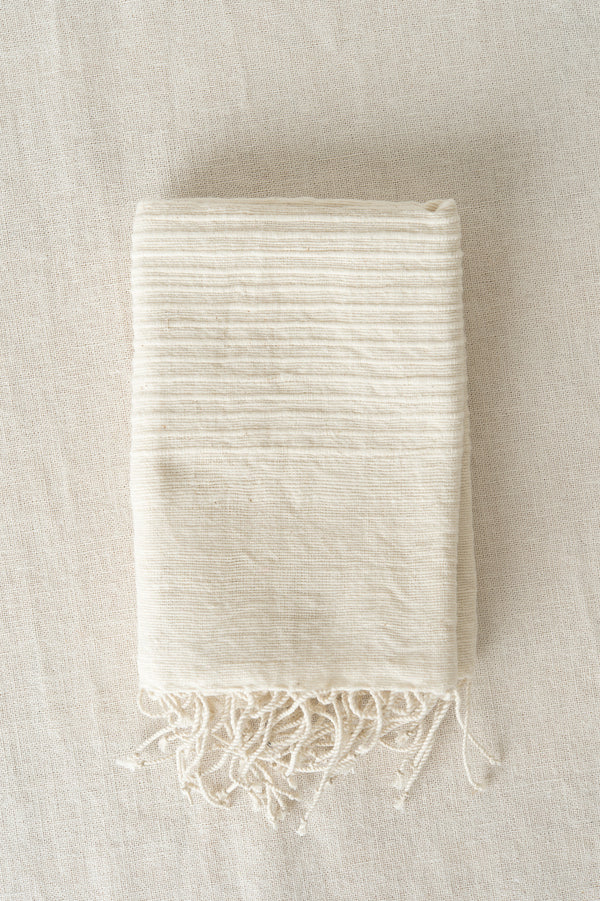 Creative Women Riviera Hand Towel In Natural