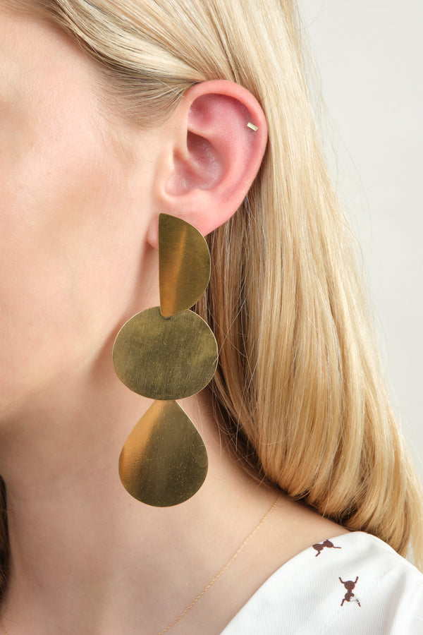 Annie Costello Brown Mattea Earrings