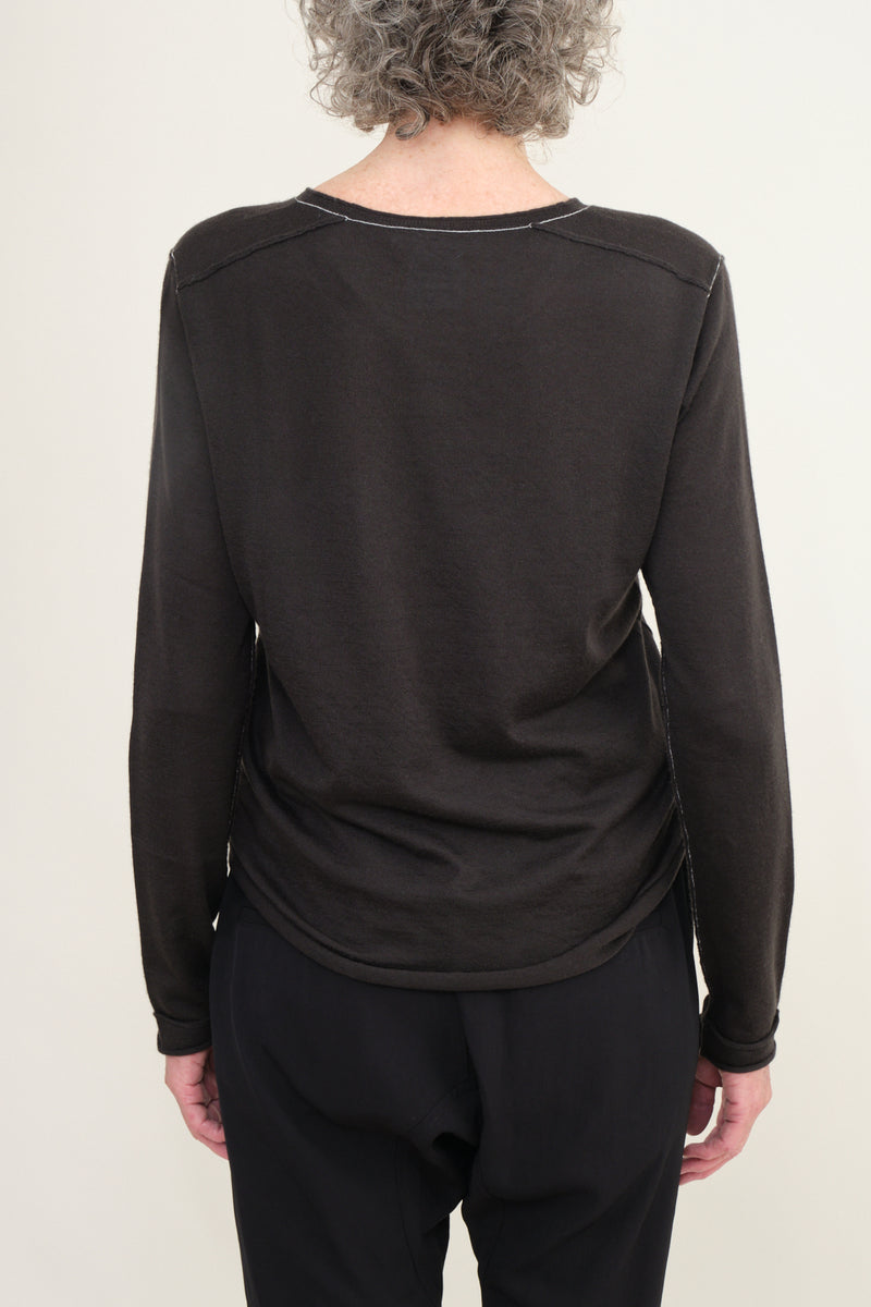 Paychi Guh long sleeve cashmere tee
