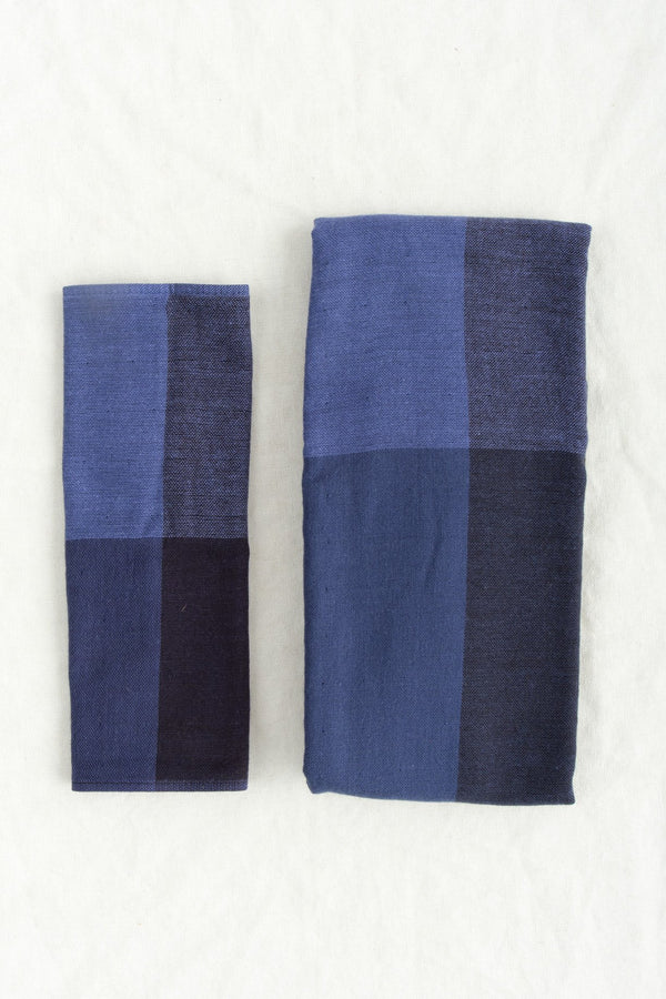 Yoshii Chambray Block Washcloth