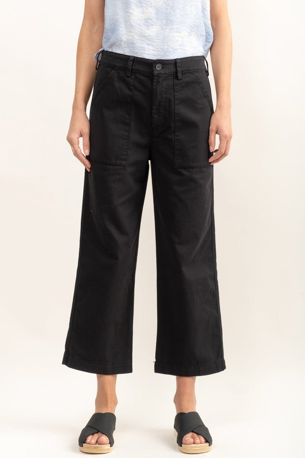 Black Workwear Trouser