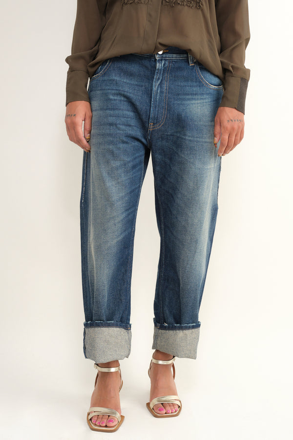 MM6 Maison Margiela boyfriend denim