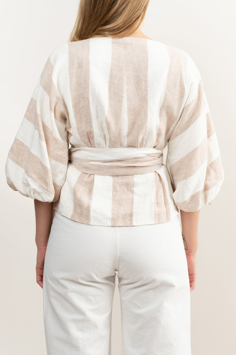 Clothing made with organic linen