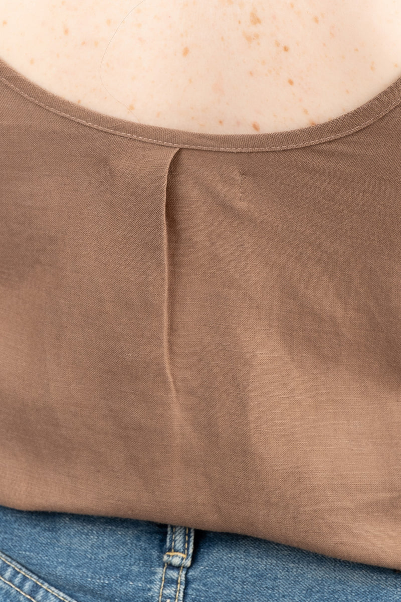 Women's Brown Tank
