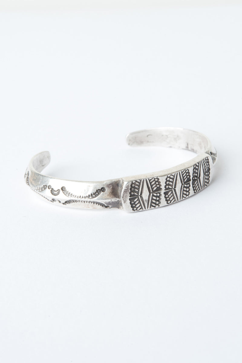 large silver cuff