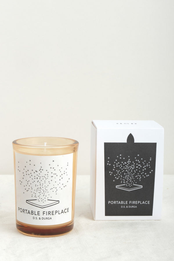 DS & Durga Portable Fireplace Candle