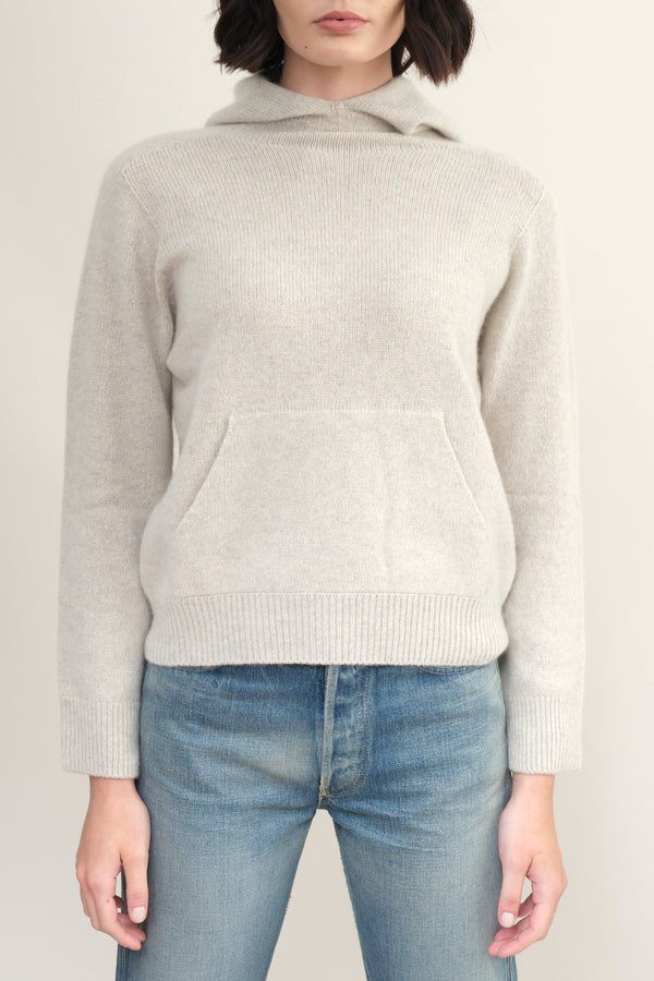 cashmere hooded sweater Evam Eva