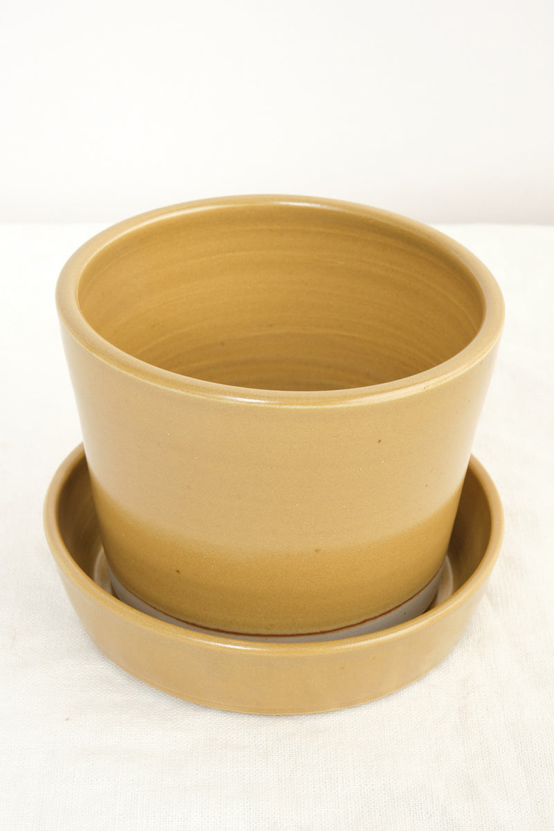 hand thrown ceramic planter WRF Lab Ceramics