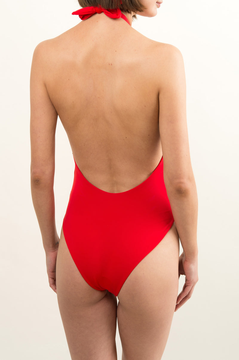 Women's Red Swimsuit