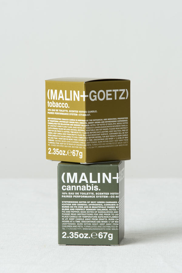 Malin + Goetz Cannabis Votive Candle