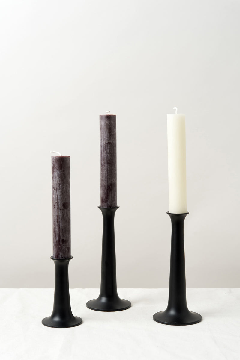 Hawkins New York Wooden Candle Holders