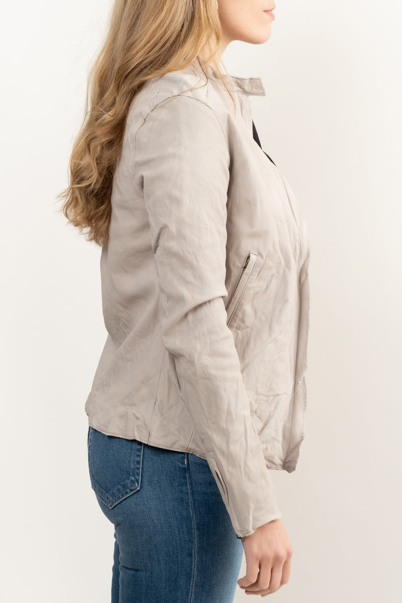 Women's Spring Leather Jacket