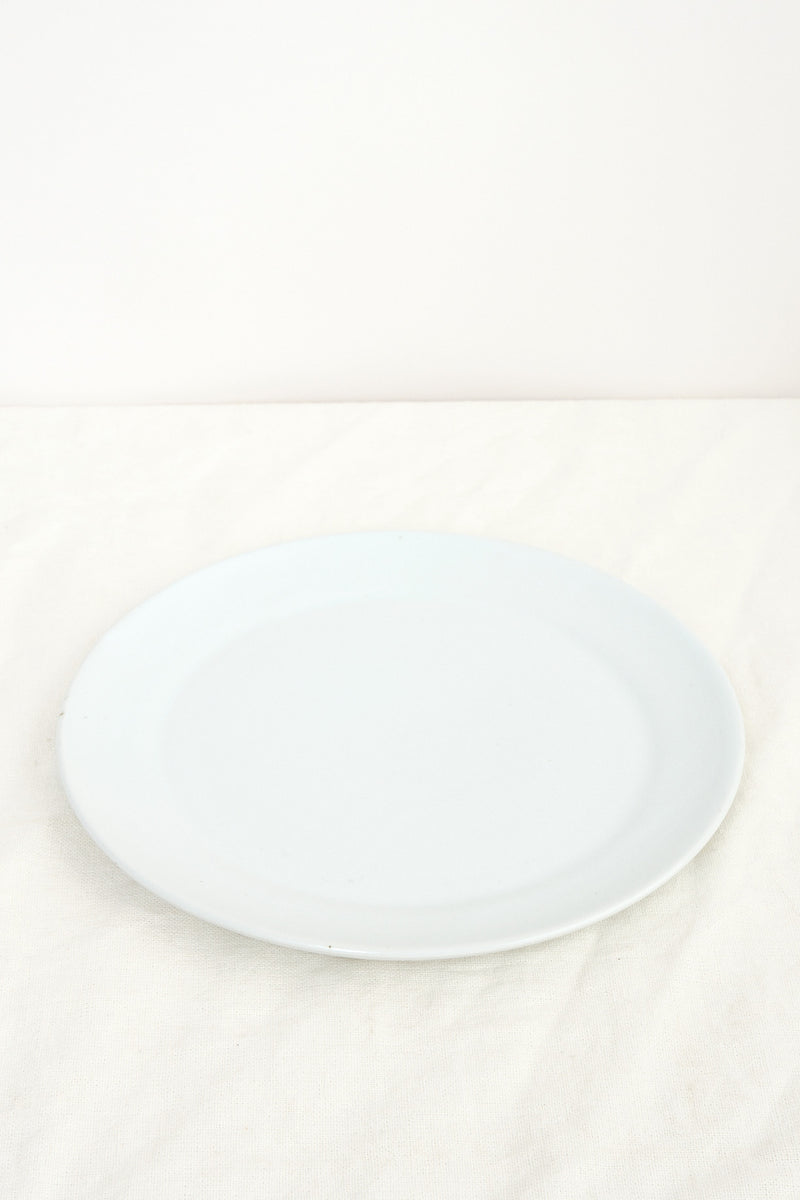 white dinner plate WRF Lab Ceramics