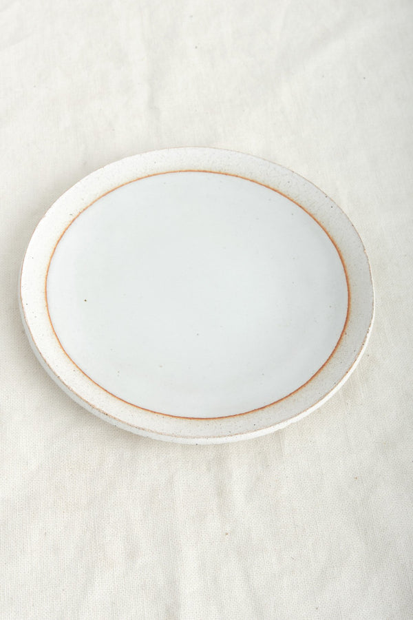 Mquan Studio Large Full Moon Dish White