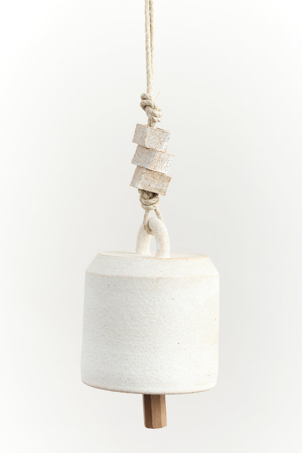 Mquan Studio Small Wide Thrown Bell In White