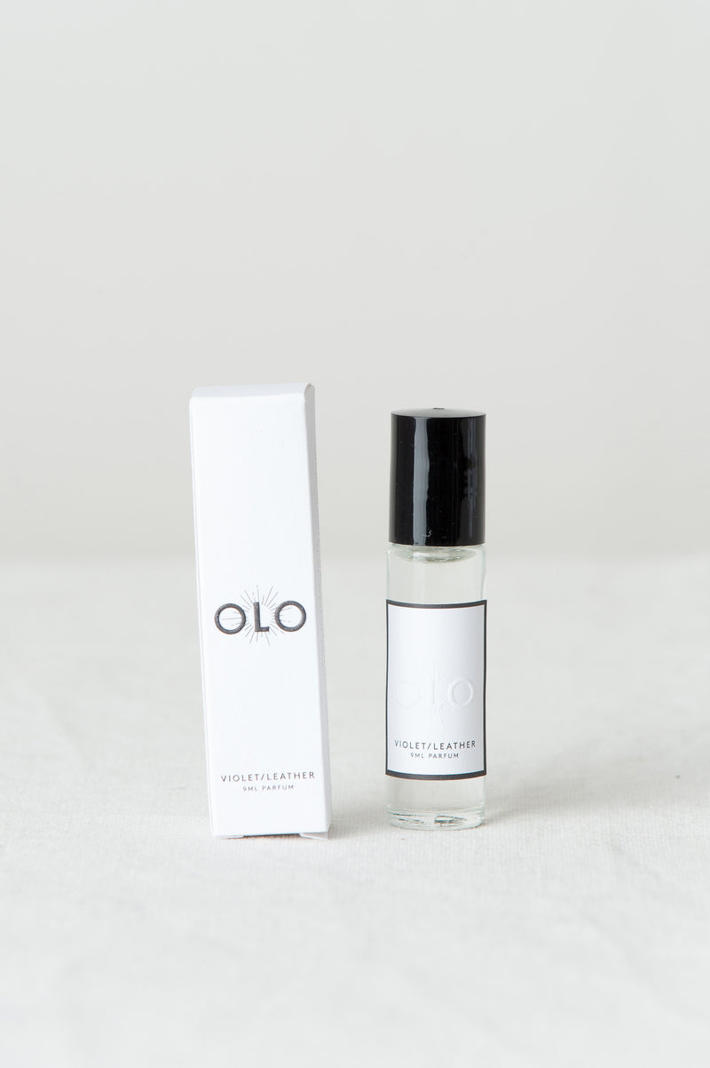 Olo Fragrances Violet/Leather
