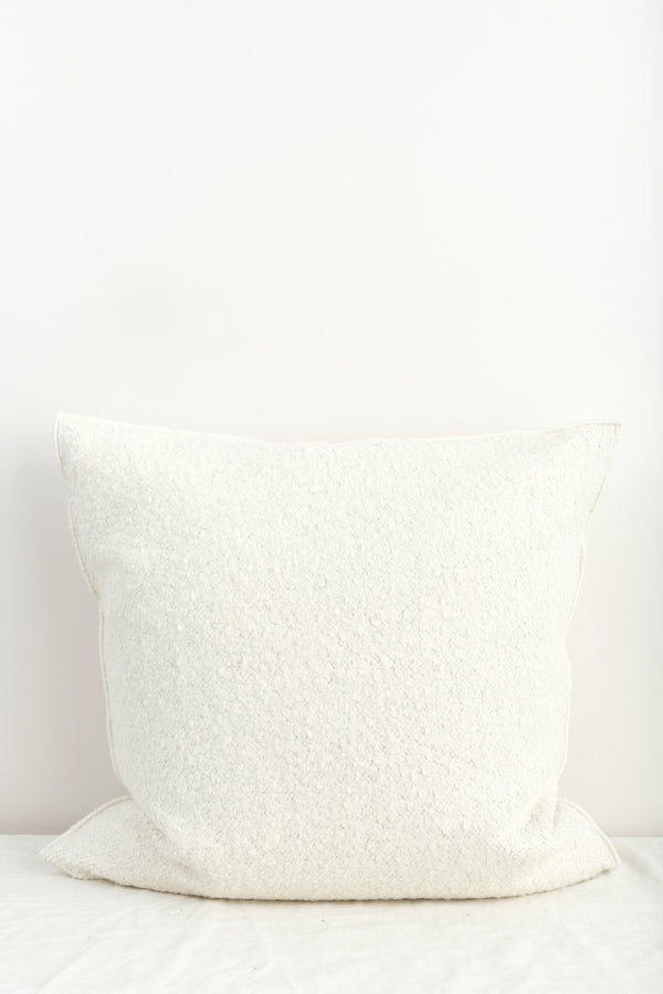 Maison de Vacances Canvas Yeti Vice Versa Cushion Blanc