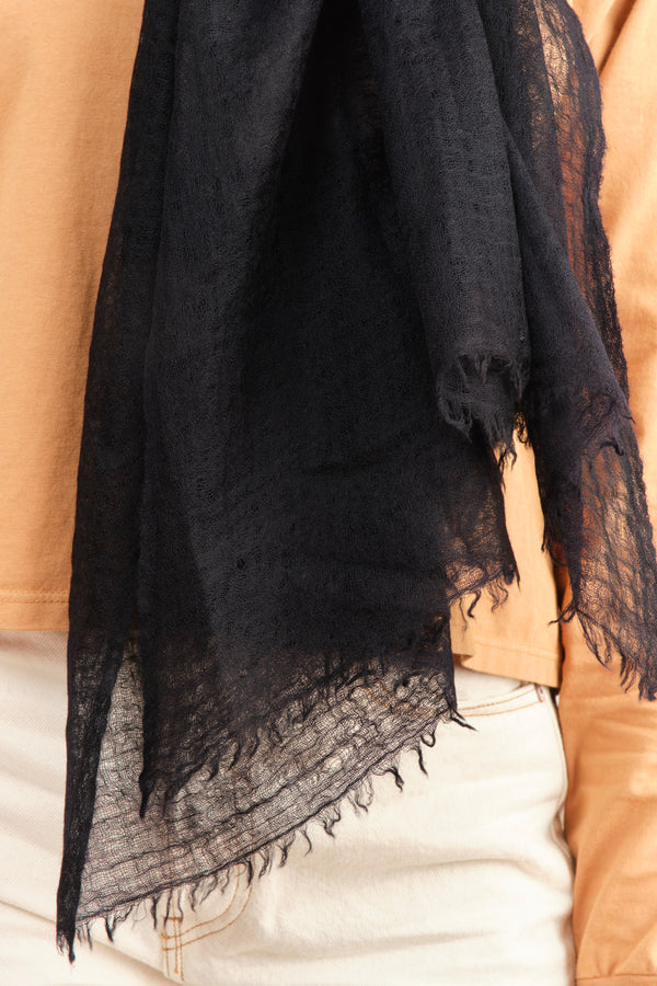 Black and Grey Shawl