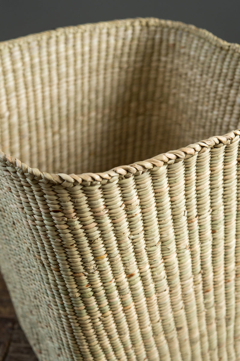 woven basket home decor