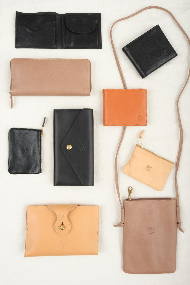 Il Bisonte Zip Around Wallet