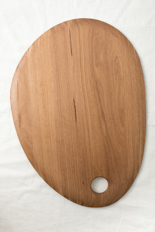 Hawkins New York Large Simple Cutting Board Oak
