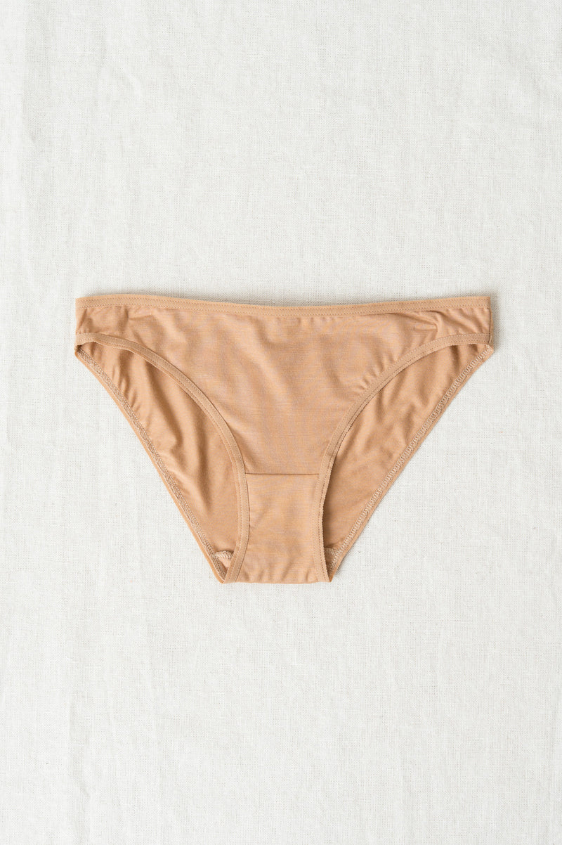Baserange Bell Pants In Nude 3