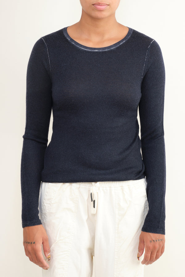 cashmere long sleeve Paychi Guh